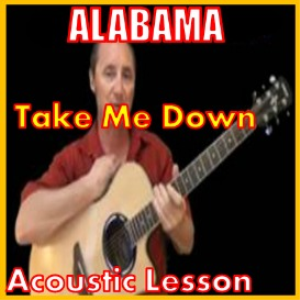 learn to play take me down by alabama