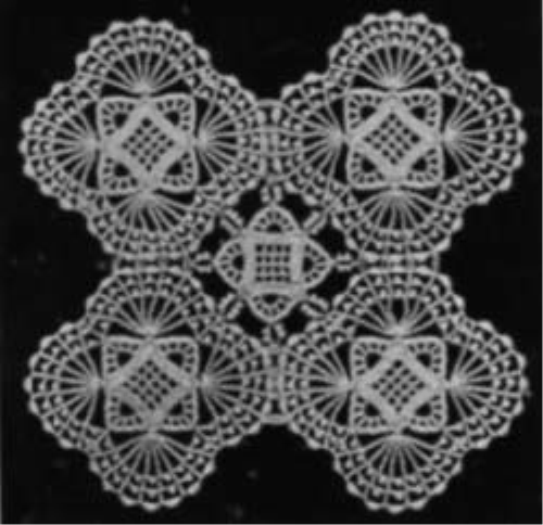 Fifth Additional product image for - Vintage Beaded Doily Pattern