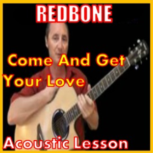 learn to play come and get your love by redbone
