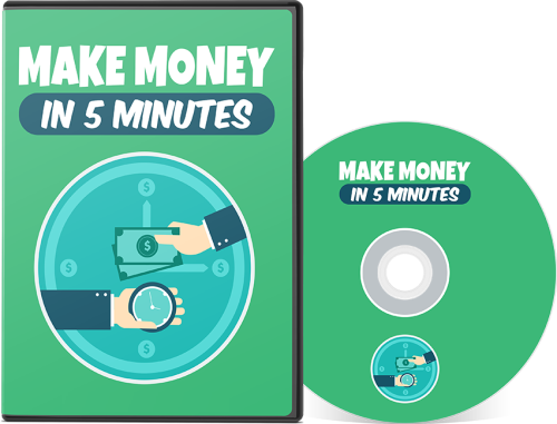 First Additional product image for - How to Make Money Online in 5 Minutes Fiverr Mini Course eBook PDF w/ MP4 Videos