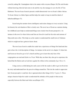 to kill a mockingbird summary 4 pages