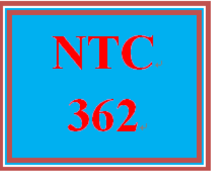 ntc 362 week 4 individual: troubleshooting tool guide for the installation of the new satellite campus
