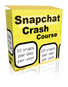 snapchat crash video course