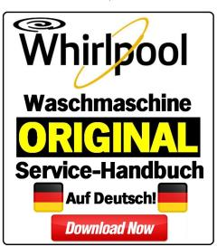 Whirlpool AWO 6846 Waschmaschine Serviceanleitung | eBooks | Technical