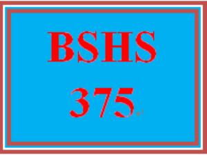 BSHS 375 Week 2 Database Demographic Information   eBooks   Education