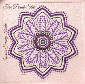 Ten-Point Star XXX | Crafting | Embroidery