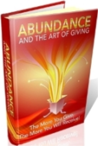 abundance and the art of giving by charlotte james