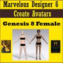 Create Marvelous Designer 6 Avatars: Daz Genesis 8 Female (G8F) | Movies and Videos | Animation and Anime