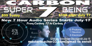 carbon 7 super being 7 hour audio series