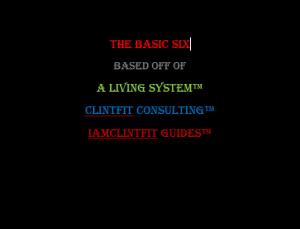 the basic six - iamclintfit guide