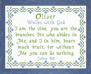 name blessings - oliver 2