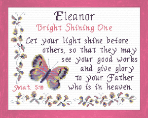 name blessings - eleanor