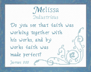 name blessings - melissa