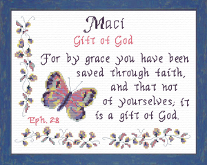 name blessings - maci