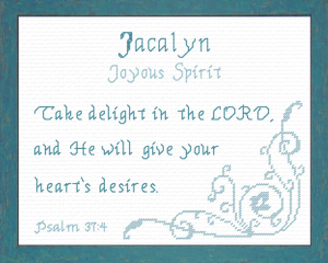 name blessings - jacalyn