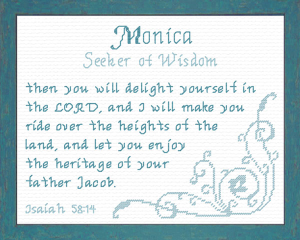 name blessings - monica