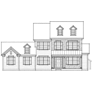 hawthorn farmhouse - garage left