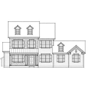 hawthorn farmhouse - garage right