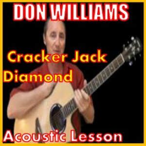 learn to play cracker jack diamond by don williams