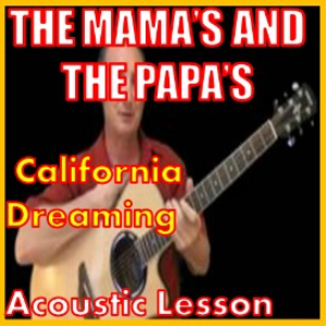learn to play california dreaming by the mamas and the papa's