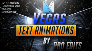 sony vegas mini text animation pack by pro edits!