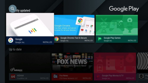 First Additional product image for - RaspAnd Nougat 7.1.2 for Raspberry Pi 3 - Build 170805 - with Google Play Store, Kodi 17.3, Aptoide TV and Google Chrome