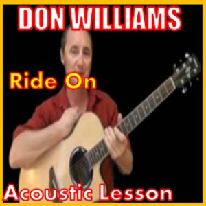 learn to play ride on by don williams