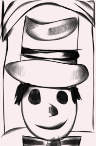 Mad hatter sketch | Photos and Images | Clip Art
