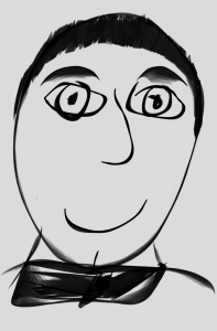 Sketch of a guy   Photos and Images   Digital Art