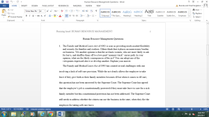 Human Resource Management | Documents and Forms | Research Papers