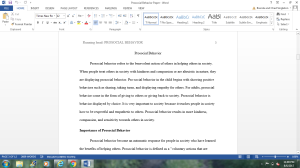 PSY-530 Research Paper Protocols | Documents and Forms | Research Papers