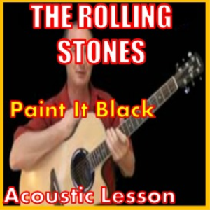 learn to play paint it black by the rolling stones