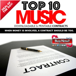 top 10 music contracts
