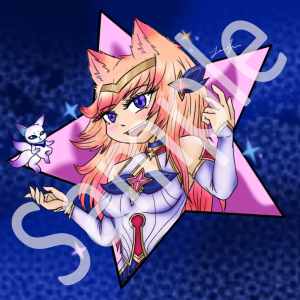 star guardian ahri art