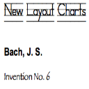 Bach, J.S.: Invention No. 6 in E major | Music | Classical