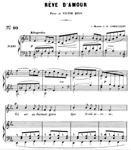 rêve d'amour op.5 no.2, medium voice in e-flat major, g. fauré. for mezzo or baritone. ed. leduc (a4)