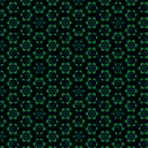 abstract pattern in green