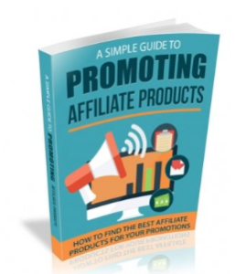 promoting affiliate products