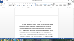Humanities Essay | Documents and Forms | Research Papers