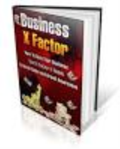 Business X-factor | eBooks | Business and Money