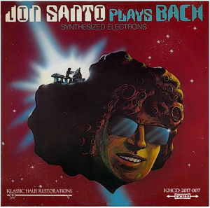 jon santo plays bach - synthesized electrons