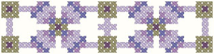 Simply Pretty Cuff Chart | Crafting | Cross-Stitch | Other