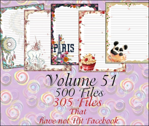 printable stationary designs vol 51 made by sophia delve