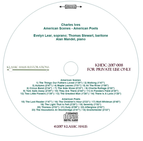 Second Additional product image for - Charles Ives: American Scenes - American Poets