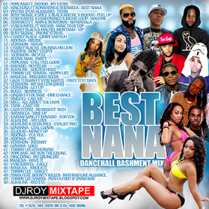 dj roy best nana bashment dancehall mix