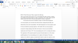 BUS335 Week 9 Discussion | Documents and Forms | Research Papers