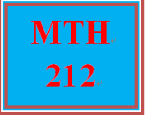 MTH 212 Week 5 MyMathLab® Study Plan for Final Exam and Checkpoint | eBooks | Education