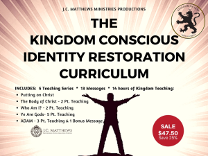 kingdom identity curriculum