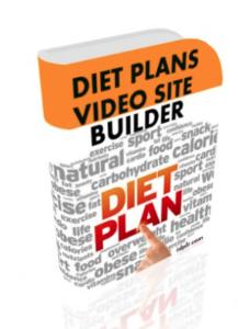 diet plans video site builder