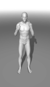 Double middlefinger | Photos and Images | Digital Art
